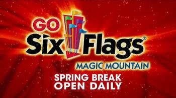 Six Flags TV Spot, 'Spring Break: Magic Mountain' - Thumbnail 10