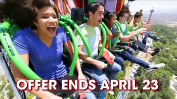 Six Flags TV Spot, 'Spring Break: Magic Mountain'