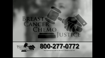 Breast Cancer Chemo Justice TV Spot, 'Important Message' - Thumbnail 7