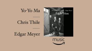 Amazon Music TV Spot, 'Bach Trios' - Thumbnail 6