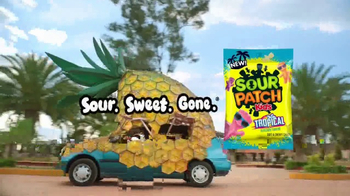 Sour Patch Kids Tropical TV Spot, 'Pineapple'