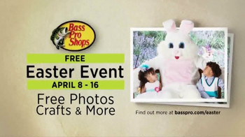 Bass Pro Shops Outdoor Escape Sale TV Spot, 'Easter Event' - 124 commercial airings