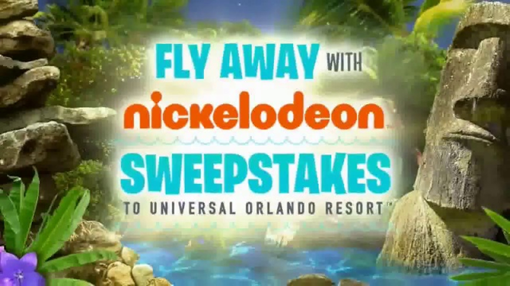 lifetime sweepstakes fly away with nickelodeon sweepstakes tv commercial 2681