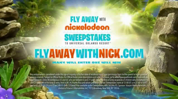 Fly Away With Nickelodeon Sweepstakes TV Spot, 'Experience of a Lifetime' - Thumbnail 8