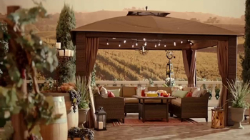 Big Lots TV Spot, 'Vineyard at Sunset: Sonoma Patio Set' - Thumbnail 1