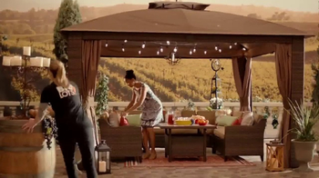 Big Lots TV Spot, 'Vineyard at Sunset: Sonoma Patio Set' - Thumbnail 4
