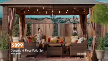 Big Lots TV Spot, 'Vineyard at Sunset: Sonoma Patio Set' - Thumbnail 6