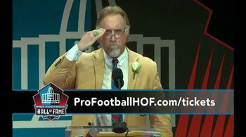 Pro Football Hall of Fame TV Spot, 'Toby Keith: Concert of Legends'