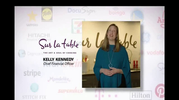 Oracle Cloud TV Spot, 'Oracle Cloud Customers: Sur La Table' - 165 commercial airings