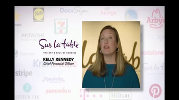 Oracle Cloud TV Spot, 'Oracle Cloud Customers: Sur La Table' - Thumbnail 8