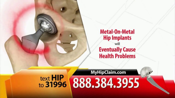 Gold Shield Group TV Spot, 'Metal on Metal Hip Replacement' - Thumbnail 4