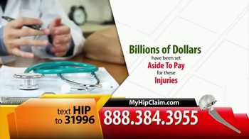 Gold Shield Group TV Spot, 'Metal on Metal Hip Replacement' - Thumbnail 6