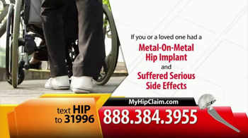 Gold Shield Group TV Spot, 'Metal on Metal Hip Replacement' - Thumbnail 7