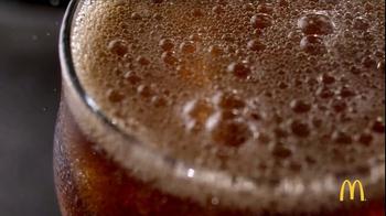 McDonald's Any Size Soft Drink TV Spot, 'Bubbles' - Thumbnail 1