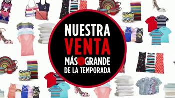 JCPenney Venta Más Grande de la Temporada TV Spot, 'Apresúrate' [Spanish] - Thumbnail 2