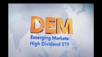 WisdomTree TV Spot, 'DEM: Emerging Markets High Dividend ETF' - Thumbnail 3