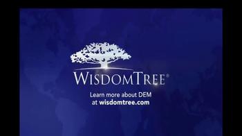 WisdomTree TV Spot, 'DEM: Emerging Markets High Dividend ETF' - Thumbnail 4