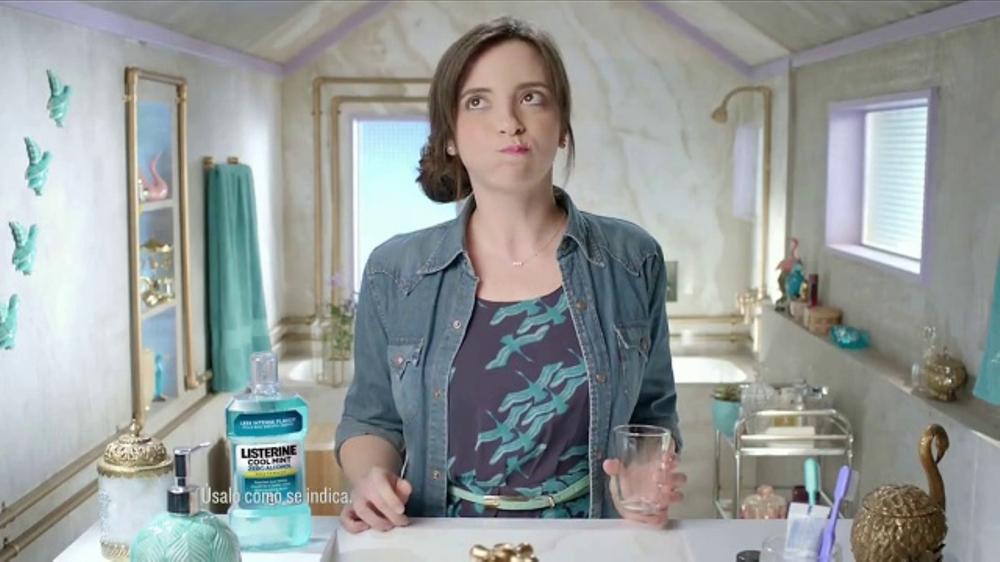 Listerine Zero Alcohol TV Commercial, 'Menos intensidad'
