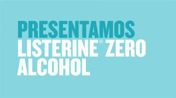 Listerine Zero Alcohol TV Spot, 'Menos intensidad' [Spanish] - Thumbnail 1