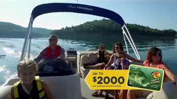 Bass Pro Shops Outdoor Escape Sale TV Spot, \'Select Boats\'