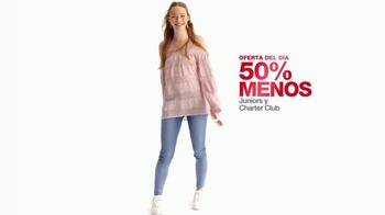 Macy's La Venta de un Día TV Spot, 'Vestidos para niñas' [Spanish] - Thumbnail 3