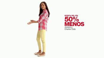 Macy's La Venta de un Día TV Spot, 'Vestidos para niñas' [Spanish] - Thumbnail 4