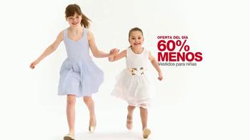 Macy's La Venta de un Día TV Spot, 'Vestidos para niñas' [Spanish] - Thumbnail 5