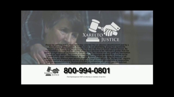 Xarelto Justice TV Spot, 'Medical Announcement' - Thumbnail 7