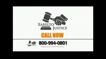 Xarelto Justice TV Spot, 'Medical Announcement' - Thumbnail 3