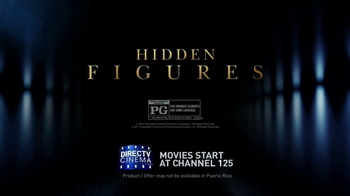 DIRECTV Cinema TV Spot, 'Hidden Figures' - Thumbnail 7