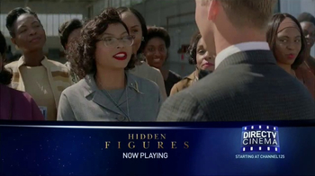 DIRECTV Cinema TV Spot, 'Hidden Figures'