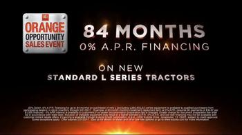 Kubota Orange Opportunity Sales Event TV Spot, 'Take on the Tough Jobs' - Thumbnail 7
