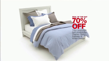 Macy's One Day Sale TV Spot, 'Kitchen, Luggage & Bedding' - Thumbnail 10