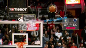 NBA App TV Spot, 'A Gift Sought by Many' Featuring LeBron James - Thumbnail 7