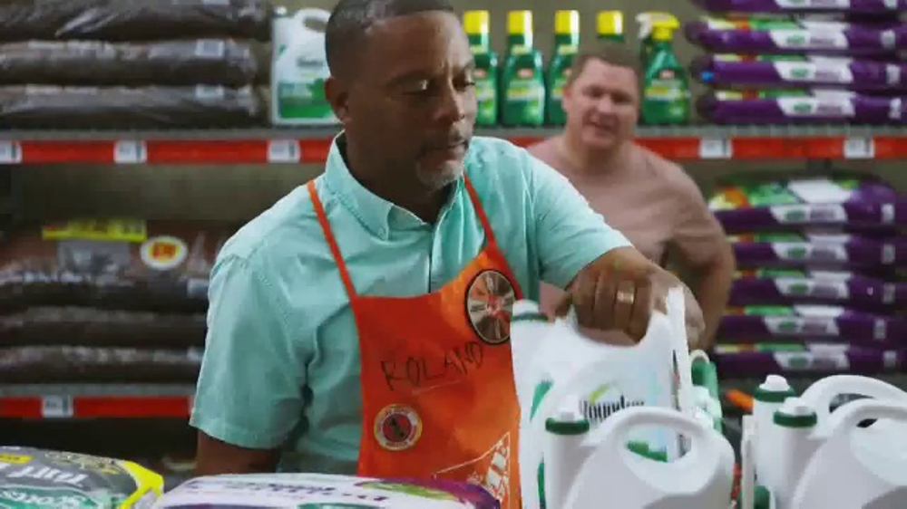 The Home Depot TV Commercial, 'Green Lawn: Roundup'