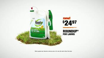 The Home Depot TV Spot, 'Green Lawn: Roundup' - Thumbnail 7