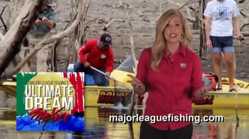 Major League Fishing Ultimate Dream Mexico Sweepstakes TV Spot, 'Adventure'