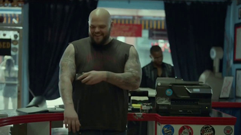 Staples HP Savings Month TV Spot, 'Tattoo Parlor: HP Printers' - Thumbnail 4