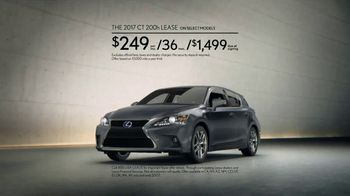 2017 Lexus CT TV Spot, 'For Every Side of You' [T2]