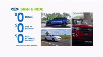 Ford Spring Sales Drive Event TV Spot, '2017 Explorer' [T2] - Thumbnail 2