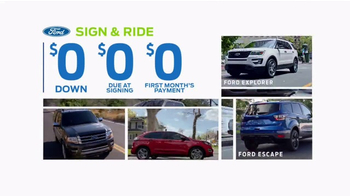 Ford Spring Sales Drive Event TV Spot, '2017 Explorer' [T2] - Thumbnail 3