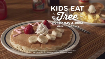 IHOP Kids Eat Free TV Spot, 'A Tale of Two Brothers' - Thumbnail 10