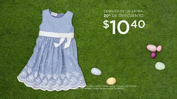 Kohl's TV Spot, 'Looks de Pascua: vestidos y camisetas' [Spanish] - Thumbnail 3