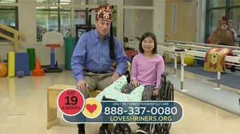 Shriners Hospitals for Children TV Spot, 'Celebration Day'