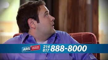 ARS Rescue Rooter Drain Cleaning Service TV Spot, 'Clogged Drains' - Thumbnail 2
