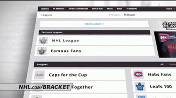 NHL Stanley Cup Playoffs Bracket Challenge TV Spot, 'Great Prizes' - Thumbnail 1