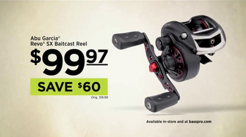 Bass Pro Shops Outdoor Escape Sale TV Spot, 'Baitcast Reel'