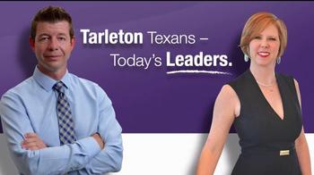 Tarleton State University TV Spot, 'Leaders: Kevin and Kris'
