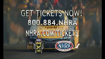 NHRA TV Spot, 'Spring, 4Wide & Southern Nationals' - Thumbnail 9