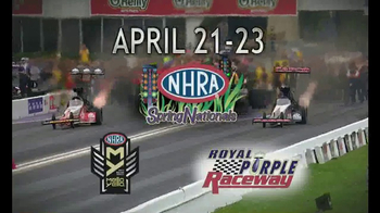 NHRA TV Spot, 'Spring, 4Wide & Southern Nationals'